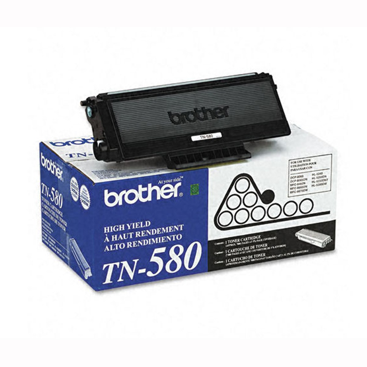 Toner Compatível Brother TN580 | HL5240 HL5250DN DCP8065DN MFC8460N